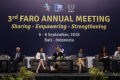 3rd FARO Annual Meeting, Bali, September 6-8th 2018